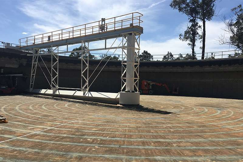 Sydney Water Clarifier Refurbishment